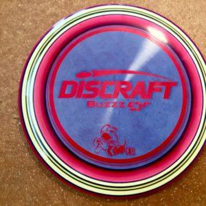 Discraft Buzzz ESP Plastic Custom Dyed Disc