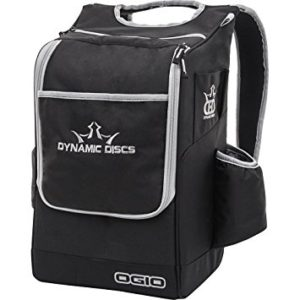 Dynamic Discs Sniper Backpack Bag Black and Gray