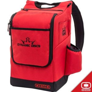 Dynamic Discs Sniper Backpack Bag Red